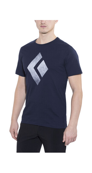 Black Diamond Chalked Up - T-shirt manches courtes Homme - bleu